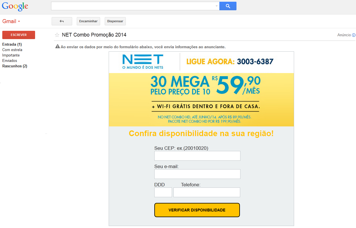 email via adwords2